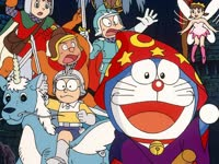 哆啦A梦1994剧场版 大雄与梦幻三剑士