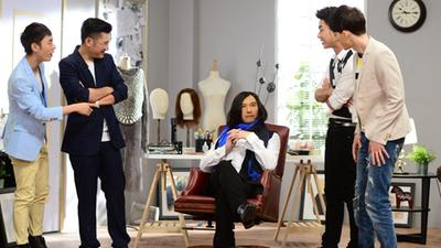 """温兆伦""""变脸""""上演戏中戏整老友 与邵美琪重现TVB经典剧情"""