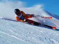 高能慎入!高山滑雪比赛滑手失误惨摔集锦