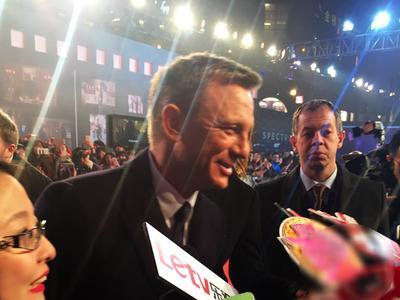 《007:幽灵党》中国首映礼红毯