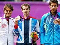伦敦奥运穆雷胜费德勒夺冠 大菠萝击败小德摘铜