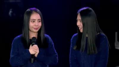 情歌王子张信哲助阵引尖叫 双胞胎姐妹和声美如天籁
