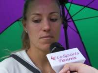 乐视网球温网专访科贝尔 喜欢用推特展现另一面