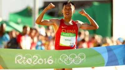王镇为中国收获第12金 竞走项目延续传统