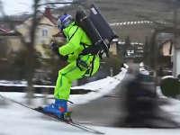 滑雪爱好者 大神开启暴走模式