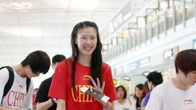 中国三人篮球国家队许诺世锦赛美女出征抢眼仁乌美女图片