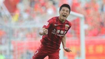 【进球GIF】武磊头球破门 上海上港再次领先
