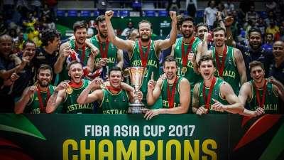 男篮亚洲杯-纽利18分 澳大利亚23分胜伊朗夺冠