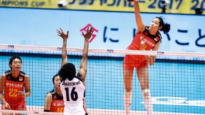 女排大冠军杯中国3-1美国 首战赢得开门红