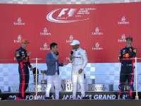 小汉铃鹿夺61冠红牛二三 前F1车手佐藤领奖台采访