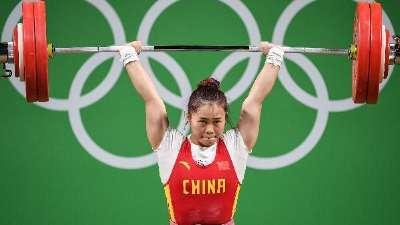 中国举重队五金二银结束里约行 成绩不错遗憾太多