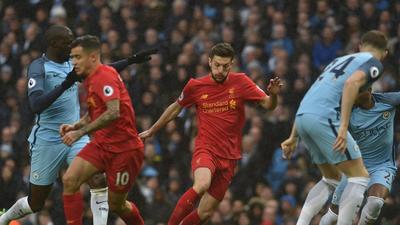 比赛报告-曼城1-1利物浦 阿圭罗错失绝杀良机