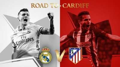 欧冠半决赛对阵:马德里内战 摩纳哥vs尤文