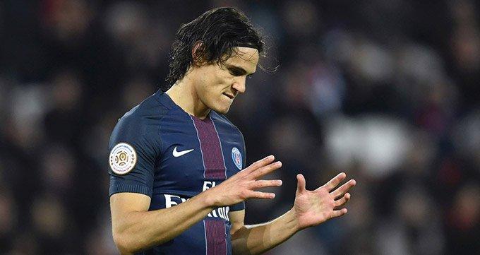法甲-巴黎0-0憾平图卢兹-卡瓦尼中柱 仍距榜首3分