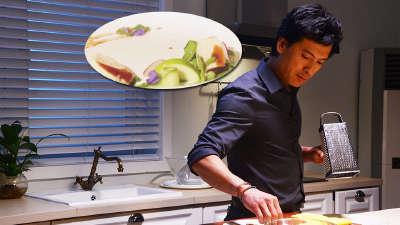 宝哥教你做高逼格西餐 浸鸡胸香草青豆茸