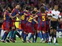 经典-11欧冠巴萨3-1曼联 梅西破门比利亚致命弧线