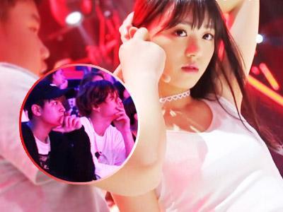 SNH48婚纱大白腿抢镜