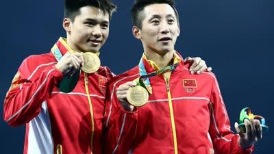 中国骄傲 男双十米跳台奥运四连冠回顾