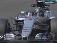 F1意大利站FP1集锦:罗斯伯格拿下最快