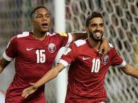 【卡塔尔1-0叙利亚】海多斯点射建功 卡塔尔1-0小胜叙利亚