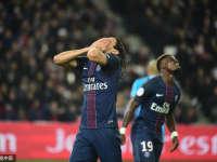 巴黎圣日耳曼0-0马赛