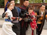 《憋住不准笑》20161103:众人穿越回古代成镖师 老江湖范明携师妹闯镖局