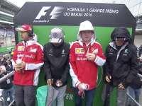 F1巴西站车手巡游全场回顾