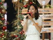 王霏霏劲歌热舞助阵圣诞季 笑言想要挑战女杀手