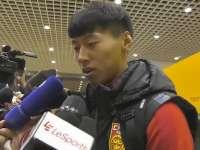 【赛后】王靖斌:助攻之人是发小 霸气滑铲增添职业信心