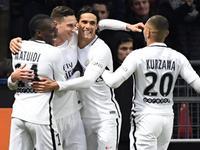巴黎圣日耳曼1-0雷恩