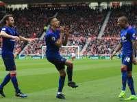 费莱尼头槌林加德一条龙 曼联3-1客胜升至第五