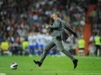 教练也疯狂 穆帅蝎子摆尾恩里克头顶脚踢