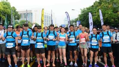 打造浦江两岸马拉松盛宴 2017上海半马周末开跑