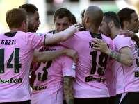 意甲-铁卫染红迪亚曼蒂建功 巴勒莫2-0十人佛罗伦萨