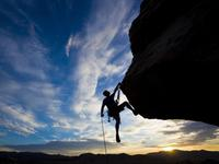 攀岩就是想独自拥抱一片风景努力的过程