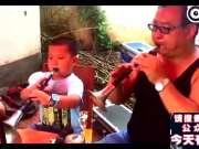 南阳4岁男孩吹唢呐视频获孟非、昆凌称赞,《百鸟朝凤》后继有人