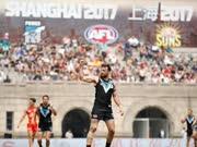 澳式足球职业联盟(AFL)常规积分赛中国首赛火热来袭