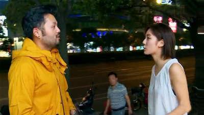 男友太邋遢房间PM2.5爆表 起分歧当街与女友大吵