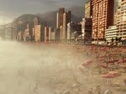 《全球风暴》香港灾变新预告 天塌地陷地火喷涌如世界末日