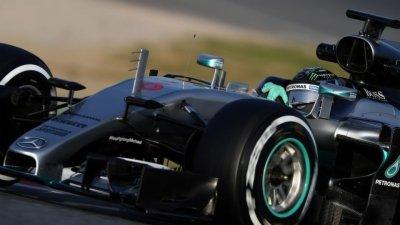F1墨西哥站FP1(现场声)