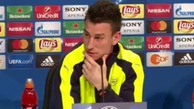 科斯切尔尼:我们赢过拜仁 明天希望拿下比赛【中字】
