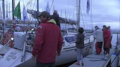 中国山水易维队顺利完成2016悉尼霍巴特帆船赛 暂列小组第四