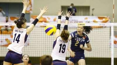 世界杯女排3-1逆转韩国 朱婷伤后返场立功