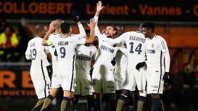 法甲-法尔考建功 摩纳哥3-0洛里昂反超尼斯登顶