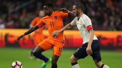 录播-荷兰VS意大利(下半场) 2017年国际足球友谊赛