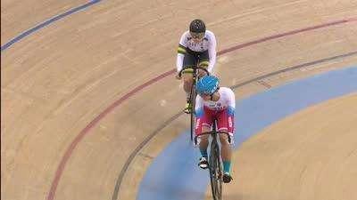 女子争先赛第二轮 澳大利亚选手再次以微弱优势获胜