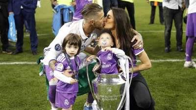 两年率队夺冠 队长拉莫斯带儿女入场庆祝