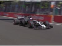 格罗斯让神龙甩尾撞墙 赛车冒烟遗憾退赛