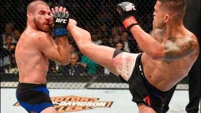 UFC213飞踢哥再现表演时刻 三回合血战胜吉姆-米勒