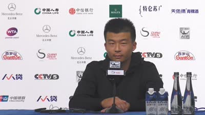 吴迪谈吴易昺:球商很高球场上表现成熟 值得期待